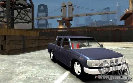 Nissan Pickup V 2005 para GTA 4 vista hacia atrás