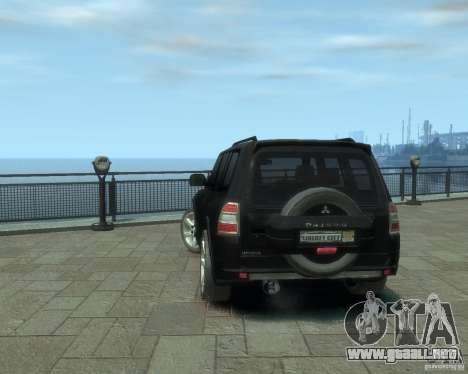 Mitsubishi Pajero para GTA 4 visión correcta