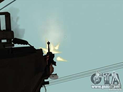 M60E4 para GTA San Andreas sucesivamente de pantalla