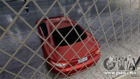 Maserati Gran Turismo 2008 Beta para GTA 4 vista hacia atrás