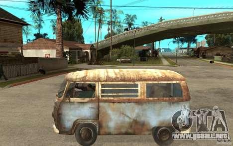 Dharma-Van (VW Typ 2 T2a) para GTA San Andreas left