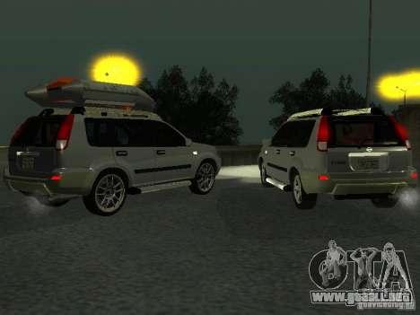 Nissan X-Trail para visión interna GTA San Andreas