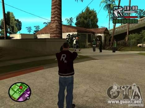 Great Theft Car V1.1 para GTA San Andreas tercera pantalla