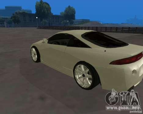 Mitsubishi Eclipse Tunable para GTA San Andreas left
