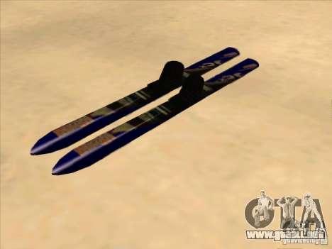 Esquí-esquí para GTA San Andreas