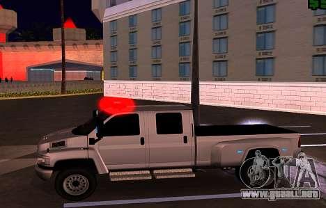 GMC Topkick C4500 para vista inferior GTA San Andreas