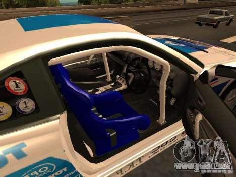 Nissan s15 Performa Drift para GTA San Andreas vista posterior izquierda