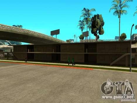 New Grove Street TADO edition para GTA San Andreas séptima pantalla