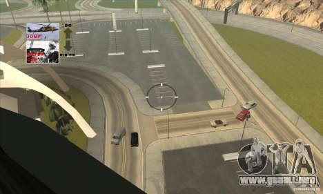 Police Maverick 2 para visión interna GTA San Andreas