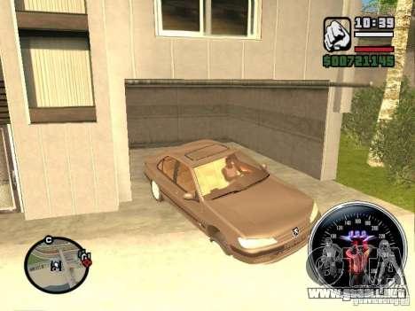 Speed Udo para GTA San Andreas sucesivamente de pantalla