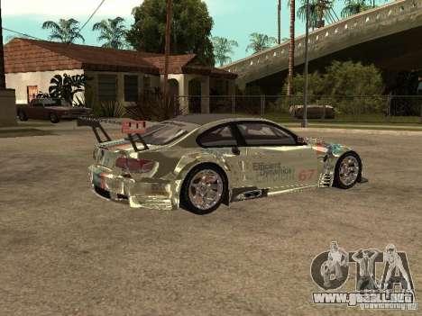 BMW M3 GT2 para la visión correcta GTA San Andreas
