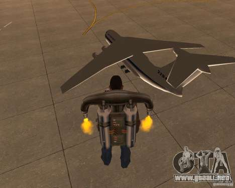 El IL-76 para GTA San Andreas left