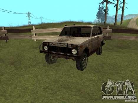 Rusty VAZ NIVA 1982 para GTA San Andreas