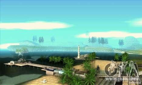 SA_gline v3.0 para GTA San Andreas sucesivamente de pantalla