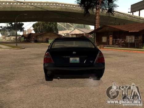 Nissan Teana para la visión correcta GTA San Andreas