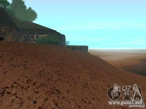 Playa HQ v1.0 para GTA San Andreas sucesivamente de pantalla