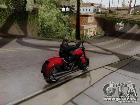 Vice City Freeway para GTA San Andreas vista posterior izquierda