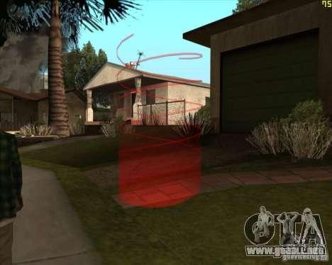 Nuevos marcadores para GTA San Andreas tercera pantalla
