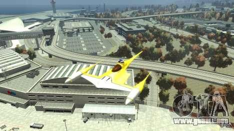 Naboofighter para GTA 4 visión correcta