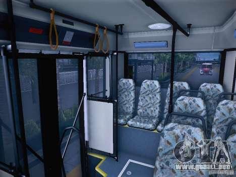 Ikarus 415 para visión interna GTA San Andreas