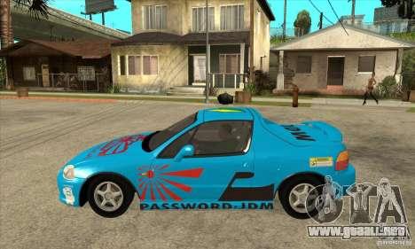 Honda CRX - DelSol para GTA San Andreas left