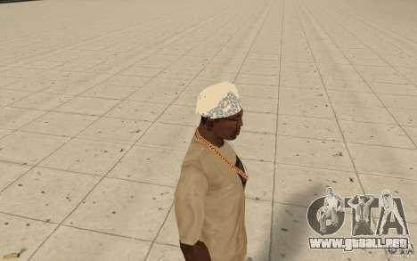Bandana dreamcast para GTA San Andreas segunda pantalla