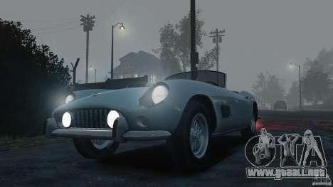 Ferrari 250 California 1957 para GTA 4 visión correcta