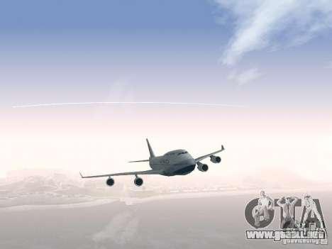 Boeing 747-400 China Airlines para la vista superior GTA San Andreas