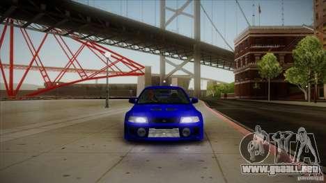 Mitsubishi Lancer Evolution lX para visión interna GTA San Andreas
