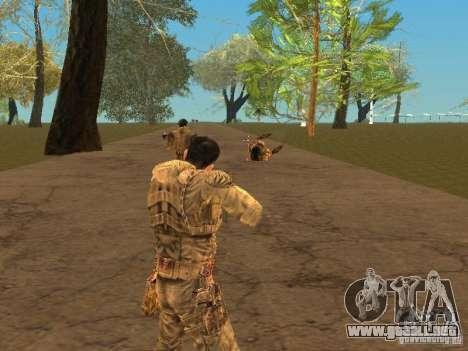 DEGTYAREV de Stalker para GTA San Andreas sexta pantalla