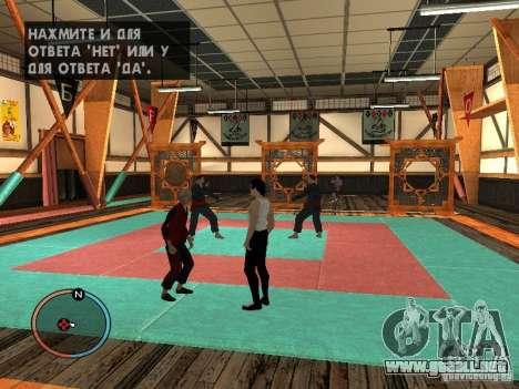Bruce Lee piel para GTA San Andreas sucesivamente de pantalla