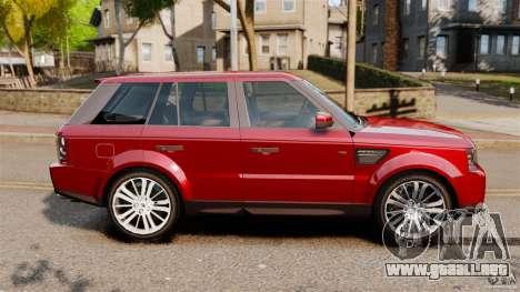 Land Rover Range Rover Sport HSE 2010 para GTA 4 left