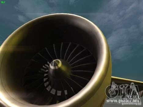 Boeing 777-200 KLM Royal Dutch Airlines para la vista superior GTA San Andreas