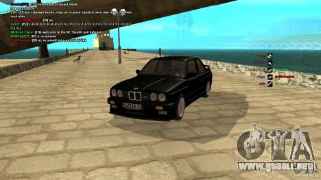 BMW M3 E30 1989 para GTA San Andreas
