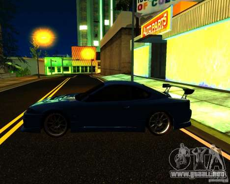 Nissan Silvia C-West para la vista superior GTA San Andreas