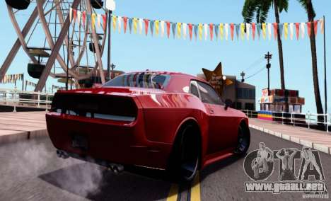 Dodge Challenger Rampage Customs para GTA San Andreas left