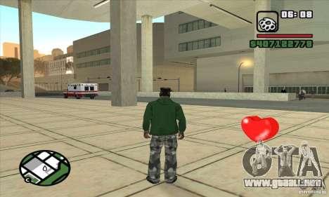 Botiquines de primeros auxilios para GTA San Andreas tercera pantalla