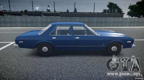 Dodge Aspen v1.1 1979 para GTA 4 vista interior
