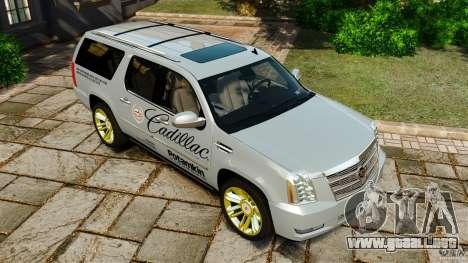Cadillac Escalade ESV 2012 para GTA motor 4