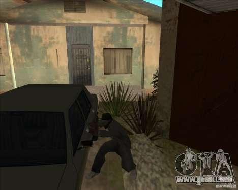Car in Grove Street para GTA San Andreas undécima de pantalla