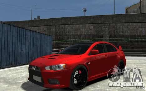 Mitsubishi Lancer Evo X v.1.0 para GTA 4