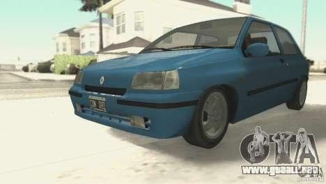 Renault Clio RL 1996 para GTA San Andreas left