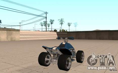 Powerquad_by-Woofi-MF piel 1 para GTA San Andreas vista posterior izquierda