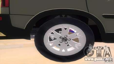 Volvo XC90 para GTA Vice City visión correcta