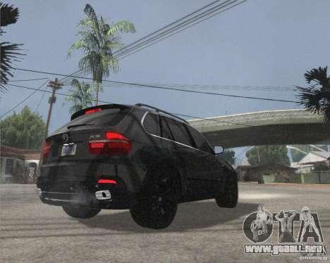 BMW X5 2009 Tune para la visión correcta GTA San Andreas