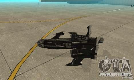 Hydra TimeShift Skin 2 para GTA San Andreas vista posterior izquierda