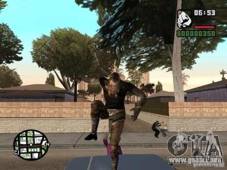 Zombe from Gothic para GTA San Andreas sucesivamente de pantalla