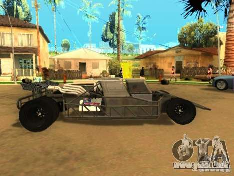 Fast & Furious 6 Flipper Car para visión interna GTA San Andreas