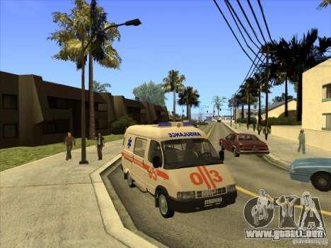 Ambulancia 22172 del GAS para GTA San Andreas