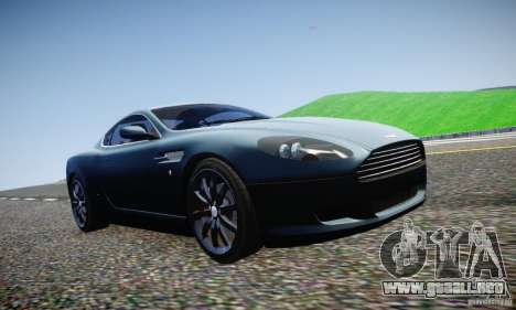Aston Martin DB9 2005 V 1.5 para GTA 4 vista superior